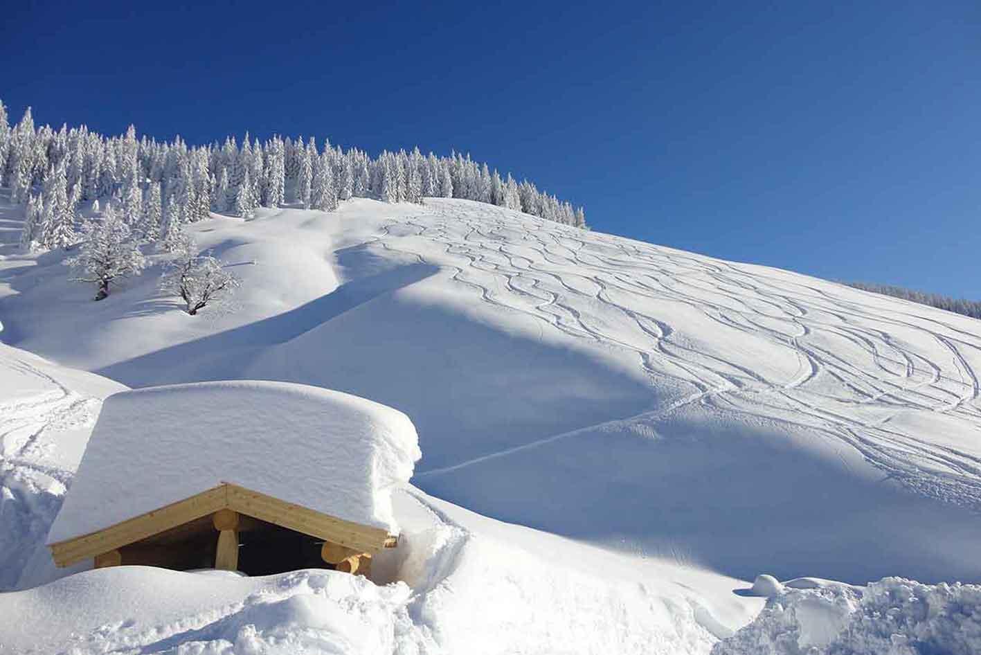 winterlandschaft Salzburgerland